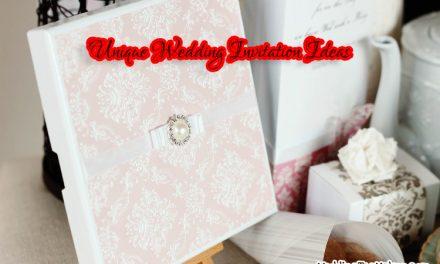 15 Unique Wedding Invitation Ideas